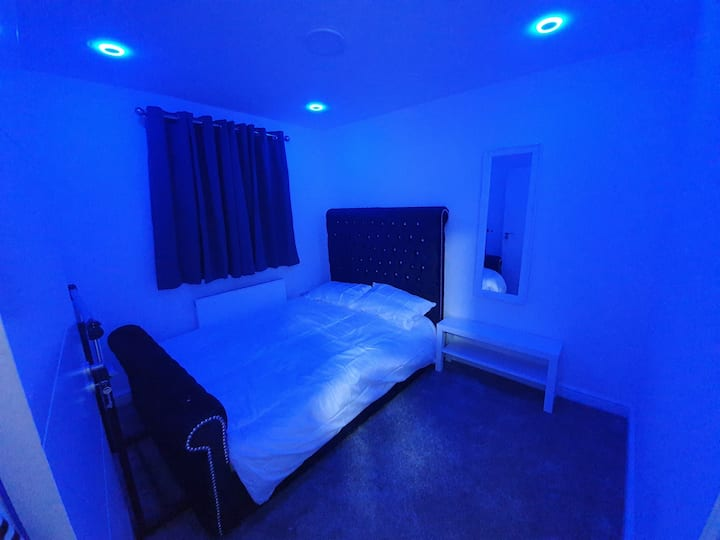 Beautiful room(3) with double bed ..