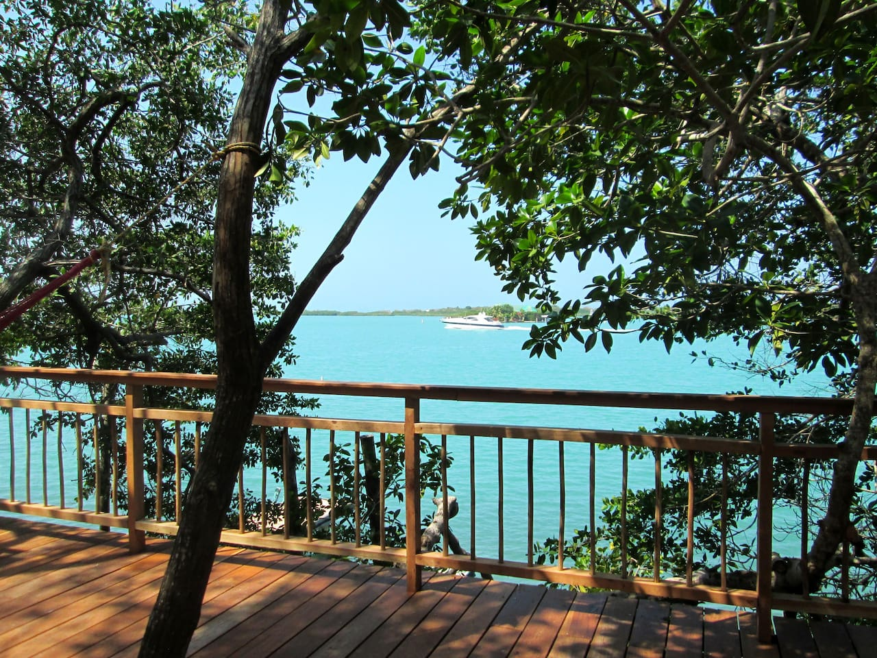 Cholon's Bay view from deck