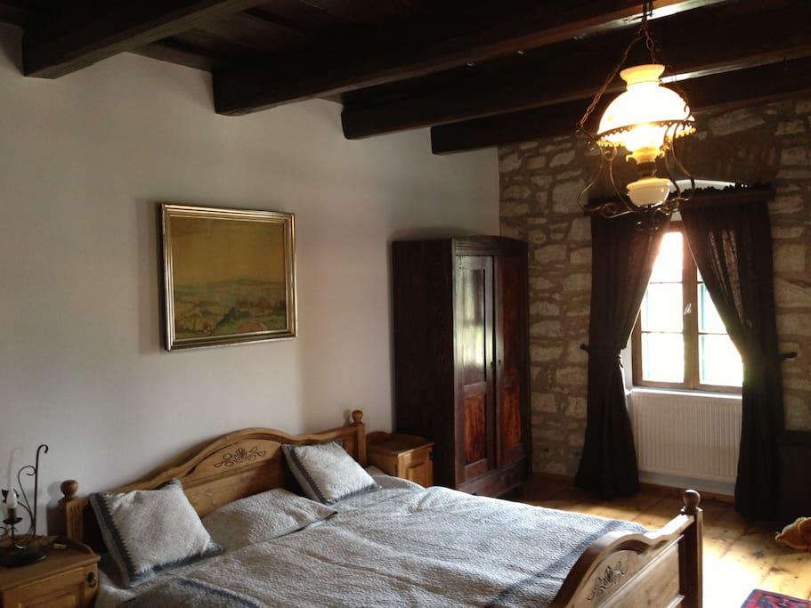 Kincsem apartman - franciaágyas szoba