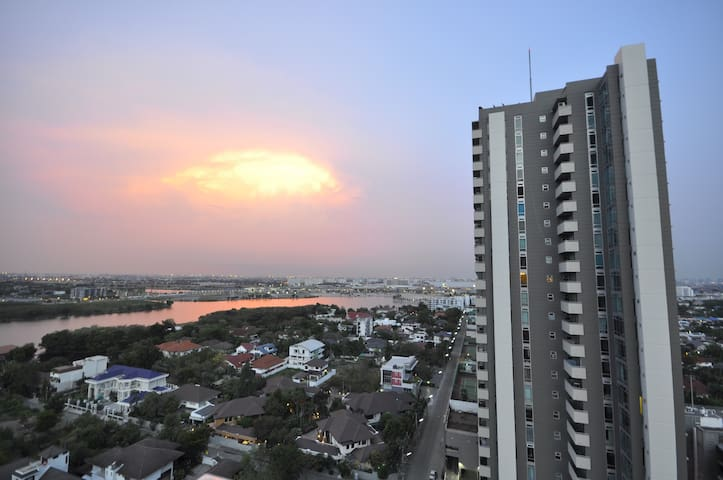 Lake View 2BR ,21fl - Pak Kret - Appartement