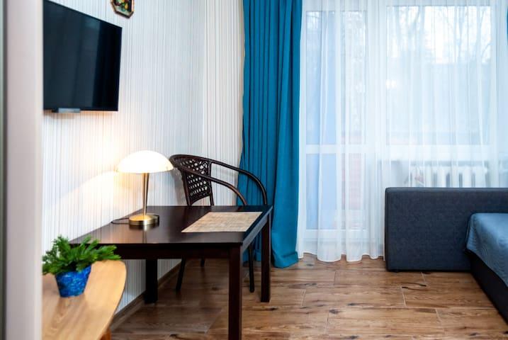Однокомнатная квартира на Тобольской