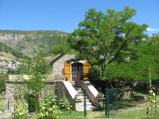 """Gîte """"Les Osiers"""" 10 P, Ste  Enimie Gorges du Tarn"""
