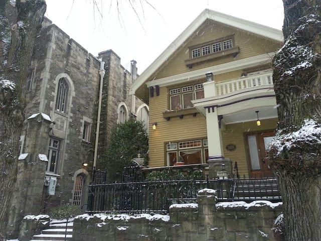 Historic Hafner Haus, Downtown PDX +Meeting Space