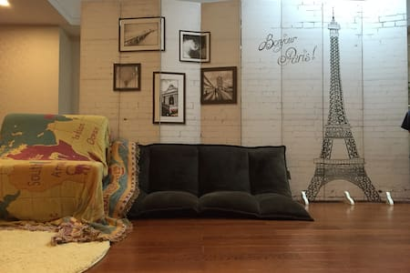 Room size 648sqf   Cosy flat 4 Beds Mixed - Shenzhen - Appartement