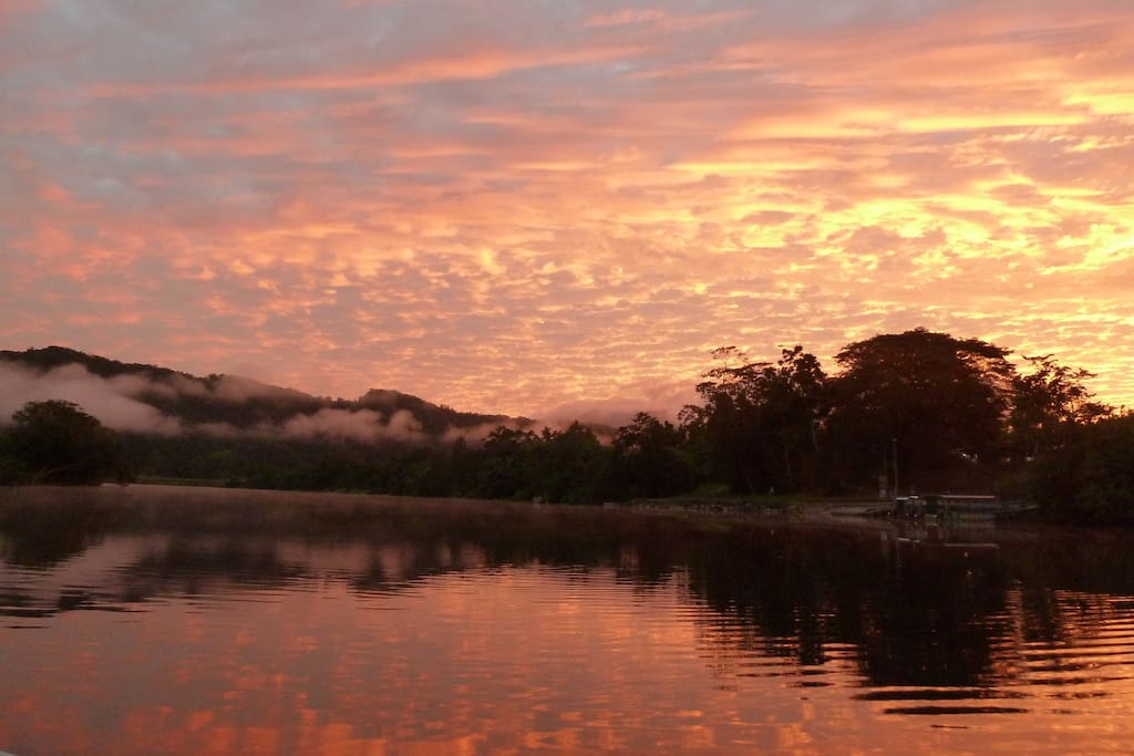 Daintree River at dawn