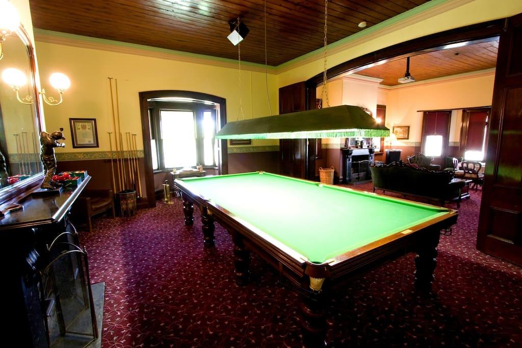 Ranelagh's Billiard Room