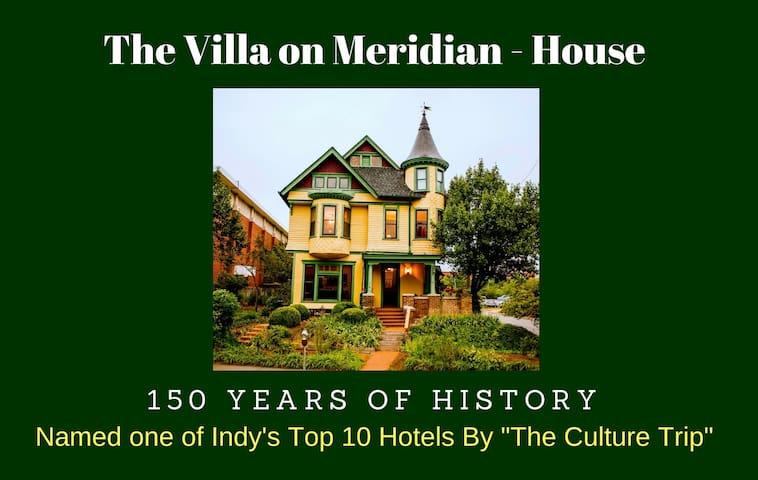Villa on Meridian- Main House- Sleeps 8-22