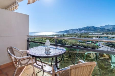 Apartment Mirador de Nerja, with wifi, air conditioning and terrace