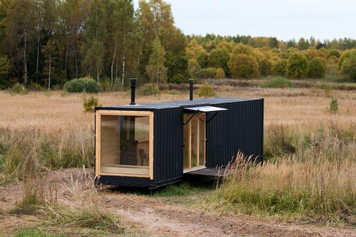 Дизайнерский дом из морского контейнера