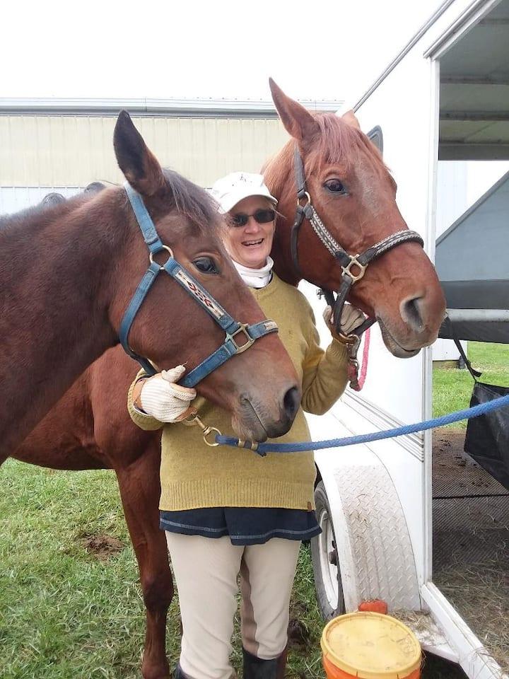 Jennifer & horses