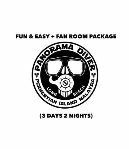 Fun & Easy + Fan Room (3 days 2 nights)