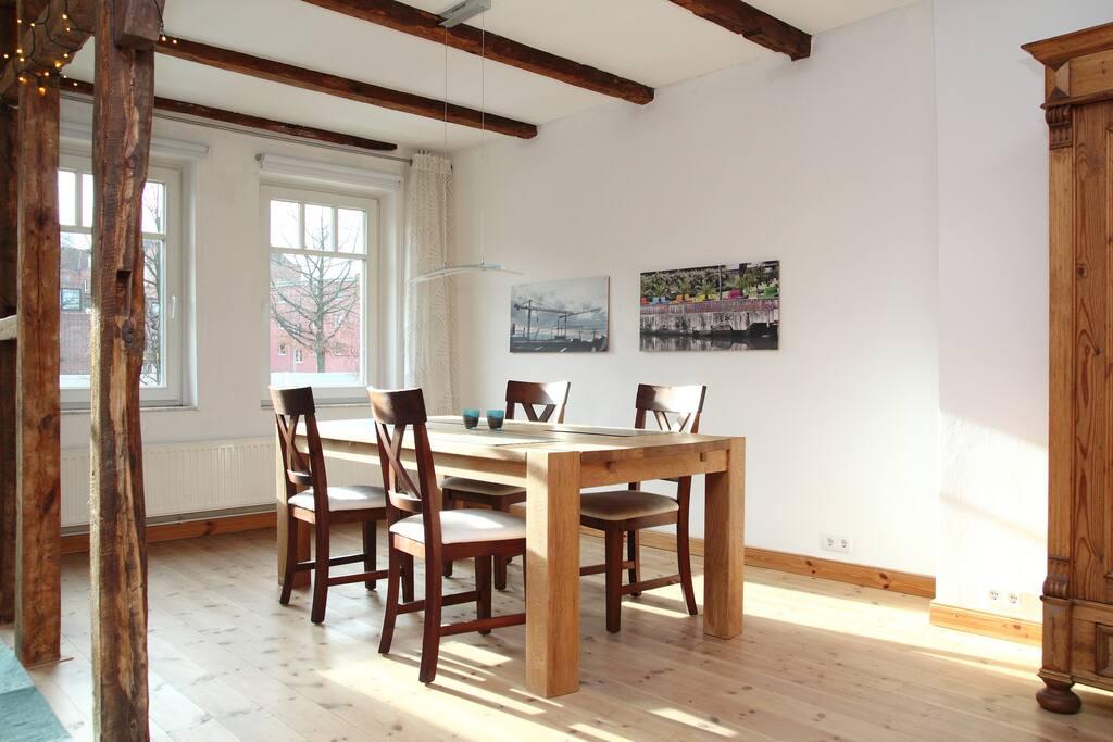 wohnen im fachwerkhaus huizen te huur in hamburg. Black Bedroom Furniture Sets. Home Design Ideas