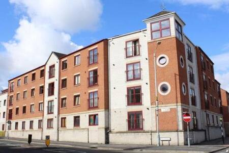 Professional flat in Loughborough city centre - Loughborough - Apartment