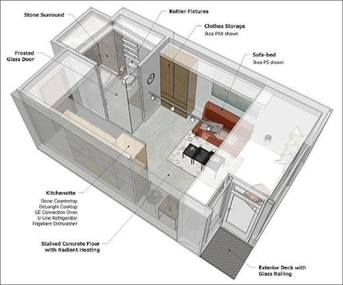 Floor Plan of Studio