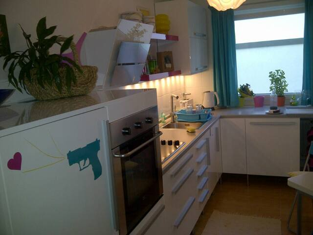 Gemütliche Wohnung in Unterföhring, - Unterföhring - Apartemen