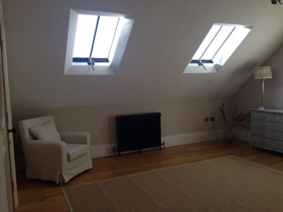 very spacious double room
