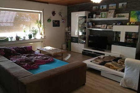 Great, big room near to Heidelberg - Meckesheim - Huoneisto