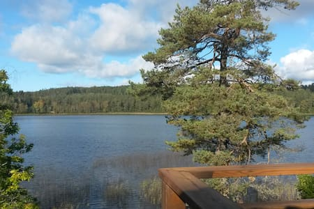 Loveley cottage by a lake - Vårgårda S - Kabin