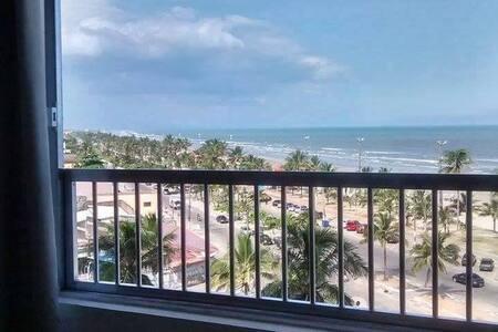Apartamento em frente a Praia de Peruibe - Peruíbe