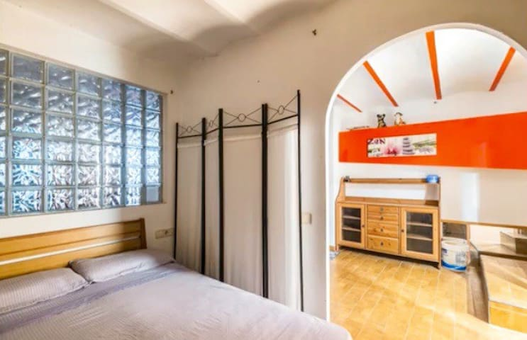 Pl. España Private Room in a Nice Loft Barcelona