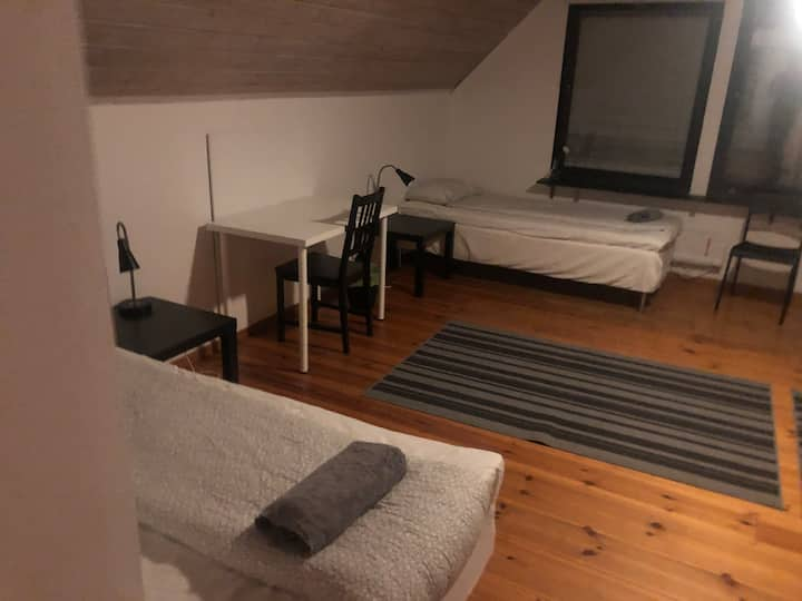Huge & affordable for companies - up to 12 beds