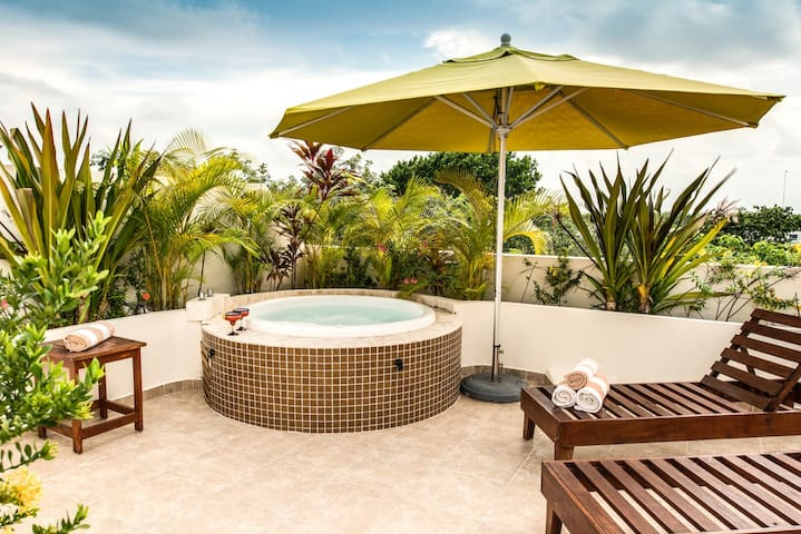 Tulum Peaceful Paradise - 2BR Private Rooftop
