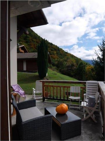 Vous pouvez aussi utiliser le balcon du bas