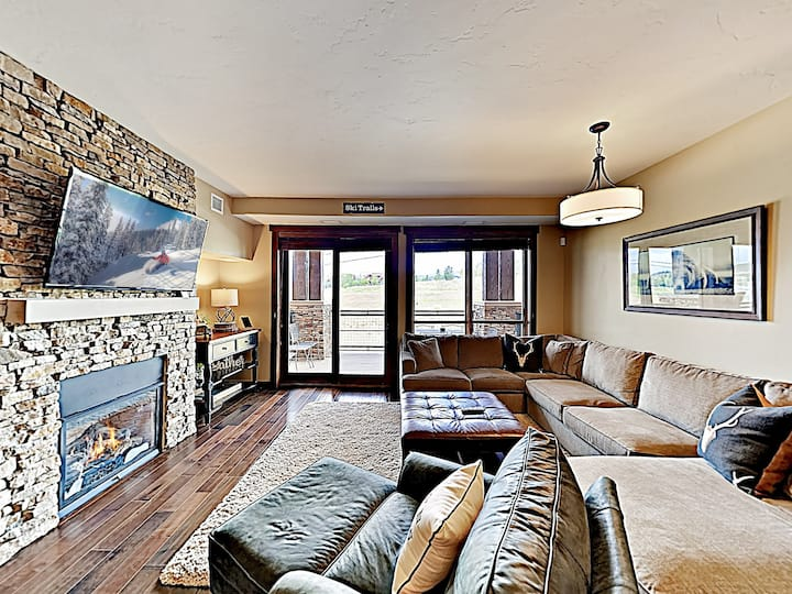 Mountain-View Condo w/ Pool & On-Site Gondola