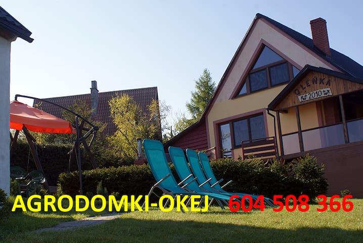 Agrodomki OKEJ -dom Oleńka
