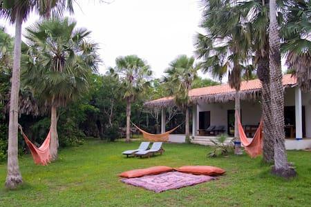 Casa Lagoa da Torta (próxima à praia da Tatajuba)