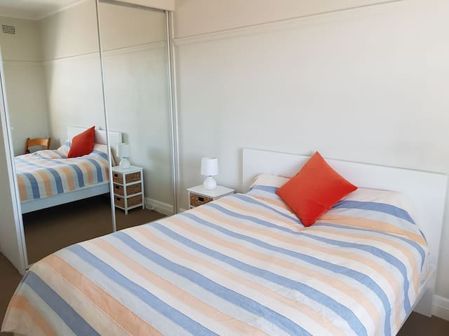 Sunny Bedroom in Bondi Beach Apartment