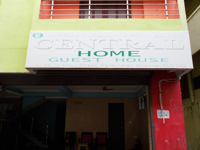 central home guest house - Chennai - Gästhus