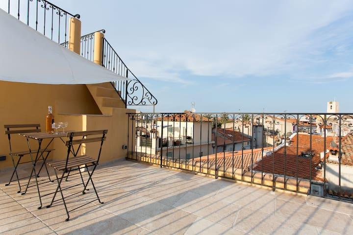 Rooftop studio, maison Berjoan - Antibes
