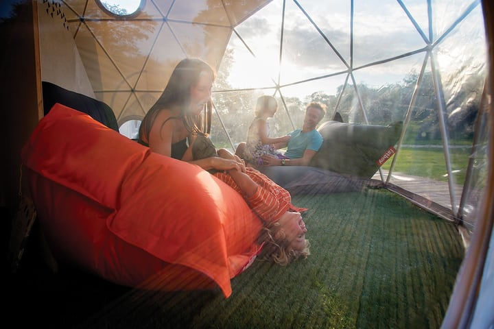 Dome 2 - glamping in the heart of the campsite