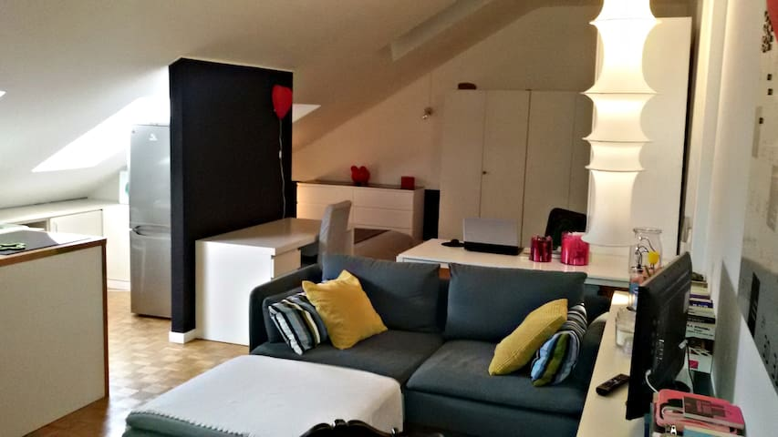 Attic, perfect location - Monza - Leilighet