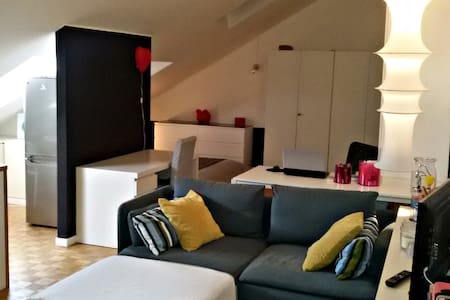 Attic, perfect location - Monza - Huoneisto