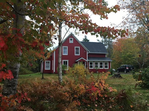 Secluded Farmhouse in the village of Baddeck