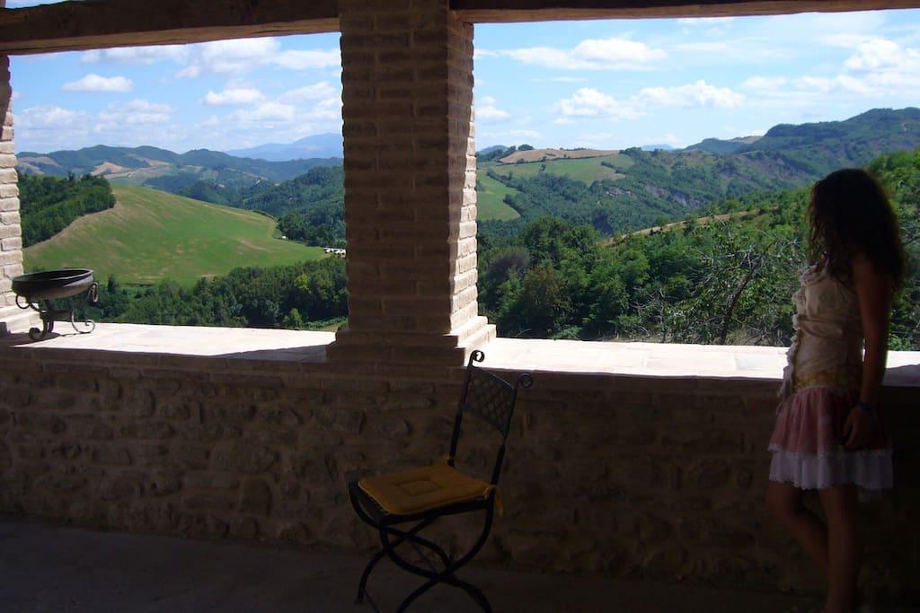 Panorama dal Loggiato