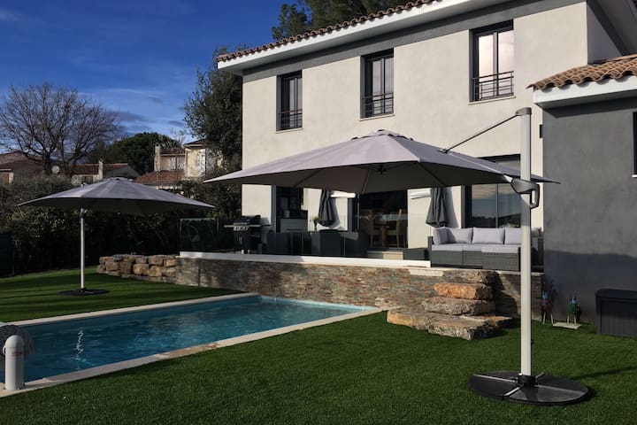 Luxurious & Modern Villa with Pool - Biot - House