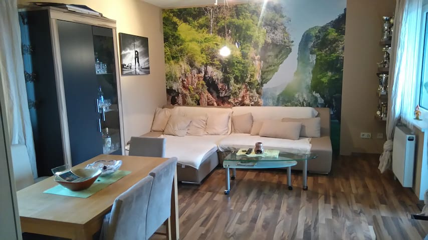 Sonnige Wohnung mit netter Aussicht - Stockerau - Apartment