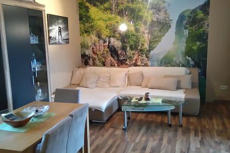 Sonnige Wohnung mit netter Aussicht - Appartement