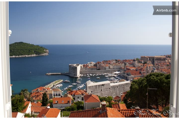 Luxury apartment/sea view,free park - Dubrovnik - Huoneisto