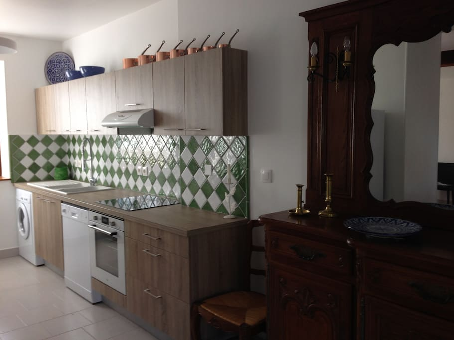 Cuisine équipée - Fully equipped kitchen for the gourmet