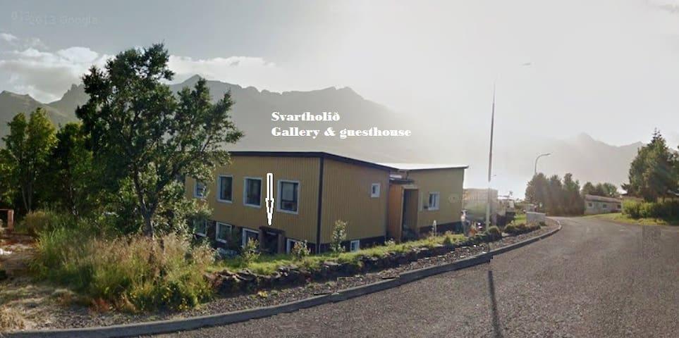 Svartholid backpackers Hostel #3 - Stöðvarfjörður - Pis