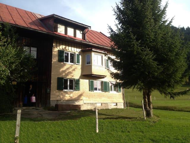 Ferienhof Wäldle direkt an d. Loipe - Balderschwang - Chalé