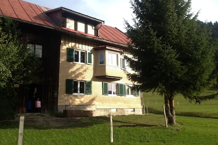 Ferienhof Wäldle direkt an d. Loipe - Balderschwang