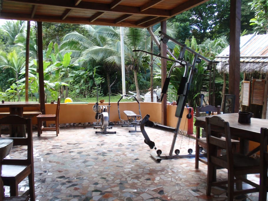 Our fitness equipment is available for all our guests