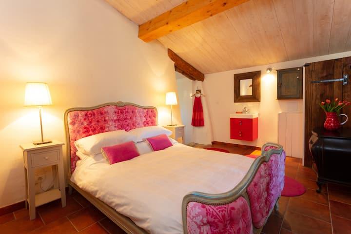 Red Y Pink gite - Ch de Montoussel