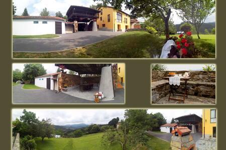 Casa Hortensia, el paraíso en Asturias