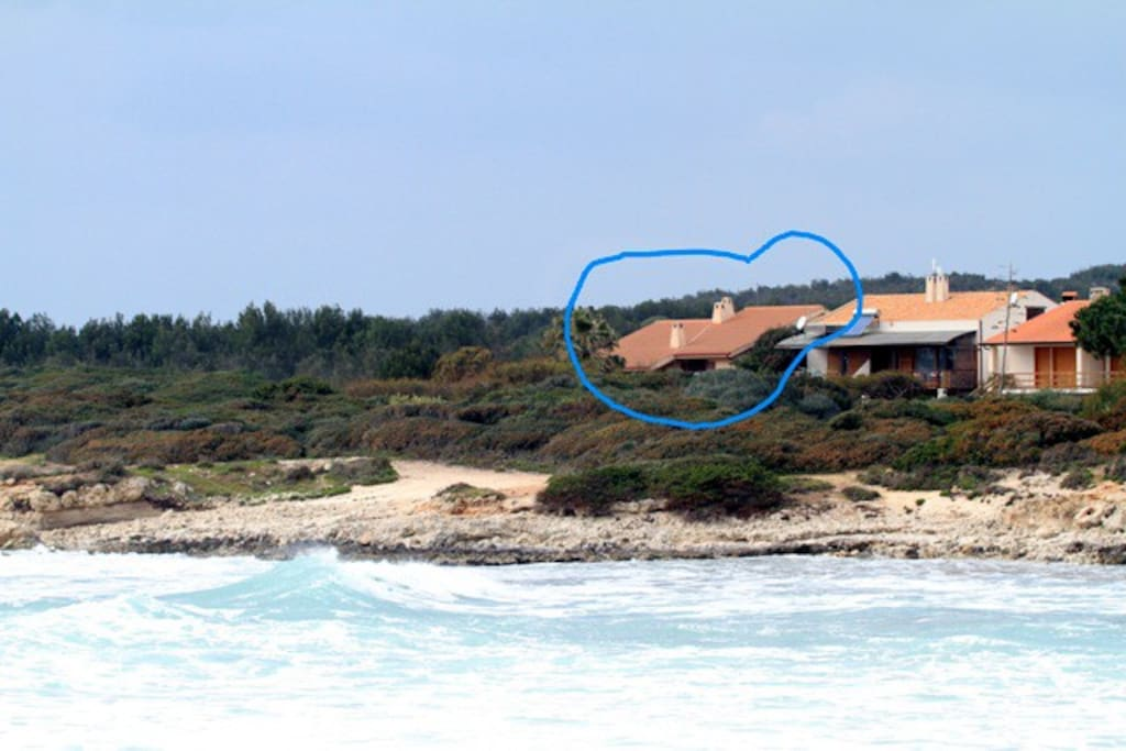 vista casa da mare